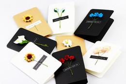 Wholesale Mini Postcards - 10pcs lot Infeel mini Flower Shop card greeting card lomo memo card kids gift postcard kawaii stationery