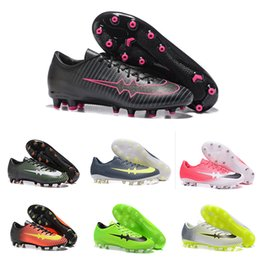 Wholesale Victory Boots - Mercurial Victory Iv Ag Mens Low To Help Football Boots Soccer Shoes Mercurial Soccer Cleats Cheap High Quality Outdoor Soccer Shoes 39-45