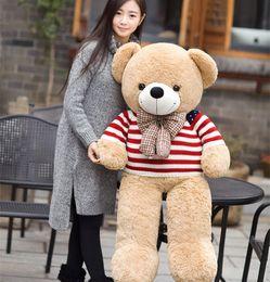natal enchido animais venda Desconto Hot venda adorável Teddy Bear Lovers Big Bear braços brinquedos de pelúcia brinquedos de pelúcia Boneca de Valentim presente presente de Natal