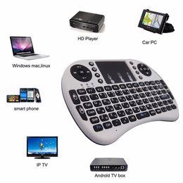 2019 беспроводной google tv Air Mouse Combo 2.4 G Mini i8 беспроводная клавиатура сенсорная панель Combo с адаптером интерфейса для ПК Pad Google Andriod TV Box Xbox360 PS3 дешево беспроводной google tv