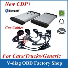 Wholesale German Auto Repair - 2014 Release3 Auto CDP Pro for Cars Trucks with keygen in CD Auto tcs cdp pro com + Bluetooth cdp pro with car cables