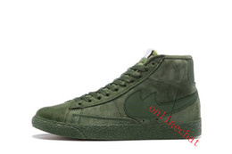 Wholesale Red Blazers Shoes - Big Discount BLAZER LOW PRM VNTG Mens and Womens High Casual Shoes Winter Warm Sports Training Sneakers Shoes Size 36-44