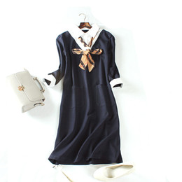 Wholesale Vintage Comfort - 2017 new arrival high quality trend classic elegant fashion casual comfort OL art witty female dress