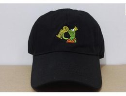 Wholesale Peach Drinks - Casquette SAD Kermit Tea Hat The Frog Sipping Drinking Tea Baseball Dad Visor hat Emoji New lebron james meme hiphop baseball Cap Gorras