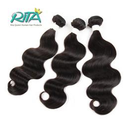Wholesale Cheapest Brazilian Virgin Hair - Cheapest Price 7A Peruvian Virgin Hair Body Wave 1Pcs lot Virgin Hair Extension Peruvian Body Wave Human Hair Weaves Very Soft