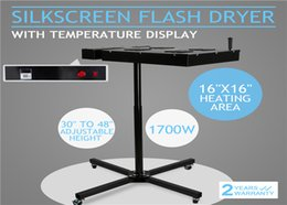 Wholesale Flash Electrical - flash dryer 16 x 16 inch t-shirt screen Printing Flash Dryer Silkscreen Printing Curing Separated Electrical Control Box