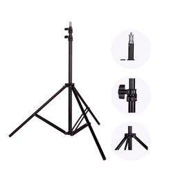 Wholesale Video Screw - Photo 2M(79in) Light Stand Tripod With 1 4 Screw Head For Photo Studio Softbox Video Flash Umbrellas Reflector Lighting