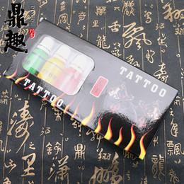 Canada Nouvelle arrivée de haute qualité CT 7 ColorBottles / Lot d'encre de tatouage 15ml / bouteille de pigment de tatouage INK405 supplier quality ink set tattoo Offre
