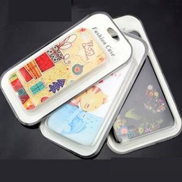 Wholesale Blister Packaging Case - PVC paper Retail package phone case empty boxes box Blister paper card for iphone 5S 6 plus Samsung Galaxy S6 S5 note 4