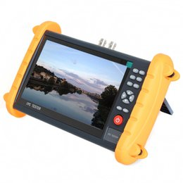 Wholesale hd poe - 7 inch 5 in 1 HD CCTV tester monitor IP analog AHD CVI TVI camera tester onvif rapid onvif IP discovery POE 12V2A output
