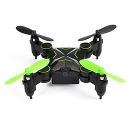 Wholesale Quadcopter Blue - Mini 901HS RC Drone with 0.3MP Camera Hold Altitude 6-Axis 2.4GHz Gyro Quadcopter Wifi FPV Foldable Remote Control Helicopter Toys