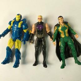 "Wholesale Loki Figure - Lot 3pcs 3.75""AGE OF ULTRON Hawkeye,LOKI MINT ON CARD,Iron man Marvel AVENGERS Figure Toy Free Shipping Toy Gift HA174"