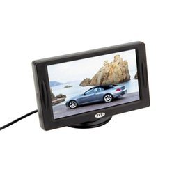 "Wholesale Camera Car For Sale - Classic Style 4.3"" TFT LCD Rearview Car Monitors for DVD GPS Reverse Backup Camera Vehicle driving accessories hot sale"