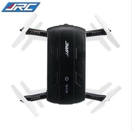 Wholesale free rc helicopters - 2017 Original JJRC H37 Elfie Foldable Mini Rc Selfie Drone With HD Camera Wifi Fpv Drone Helicopter VS H31 H36 H8 X5C X5SW-1 free shipping