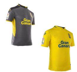 Wholesale Men Tropical Shirts - 2017 2018 UD Las Palmas jersey TROPICAL KALISE home yellow AWAY 17 18 Sports shirt
