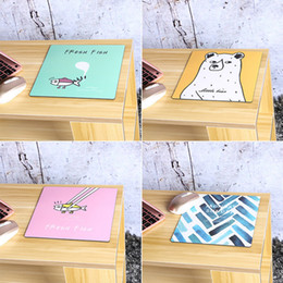 Wholesale Best Sale Europe - Wholesale- Best Sale Cartoon Resistance Individuality Originality Mouse Pads Animated Cartoon Cute Mouse Pads V4107