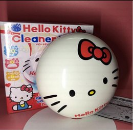 Wholesale Paper Dust - HAC Cleaning Cartoon sweeping robot Vacuum Cleaner Hello kitty My Melody Pocket Wizard Ball Cleaning Vacuum Cleaner