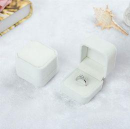 Wholesale Displays For Rings - velvet ring box Jewelry gift box for wedding Velvet Ring Box Jewelry Display Gift Case 45*50*40mm