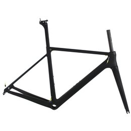 Wholesale Taiwan Road Bike Frames - Top sale road bike carbon frame T1100 1K bicycle carbon frame red carbon framest sky team bike frame made in taiwan free shipping