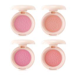 Wholesale Bebe Sizing - Wholesale- Original Korea Sammul Smile Bebe Blusher 4 Color 6.5g Naked Makeup Face Blusher Powder 1pcs