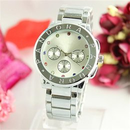 Wholesale Designer Women Watches Black - Fashion colour Rhinestone Diamond inlay Clock dial Quartz Watches Women Casual Designer stainless steel gold wristwatches wholesale