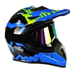 Wholesale Xxl Helmet Modular - 2017 New Top quality Off-Road V3 Motocross Helmet Motorcycle Motorbike Racing Helmet DH Downhill MX MTB Capacete With Goggles