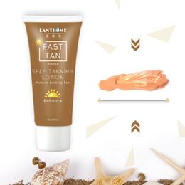 bronzage de bronze Promotion Lotion pour le corps auto bronzante Bronzers Crème Fast Tan Enhancer Bronze Naturelle Bronzante Tan Dernière 1 semaine 50ml