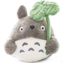Wholesale Plush Pillow Totoro - XS Totoro Hold Pillow Doll Plush Toys Large Cat Doll Girl Children's Birthday Present Wholesale