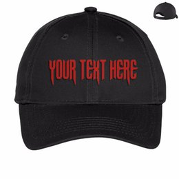 Wholesale Custom Embroidery Snapback Hats - Wholesale- Wholesale 10PCS LOT 89USD Custom Snapback Hat Baseball Cap Bucket Hat Trucker Adult Kid Print Embroidery Logo Fast Free Shipping