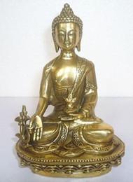 tibet bronze buddha Rabatt Tibet tibetische Bronze Medizin Buddha Statue