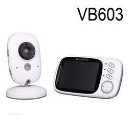 Wholesale Digital Audio Surveillance - VB603 Video Baby Monitor 2.4G Wireless with 3.2 Inches LCD 2 Way Audio Talk Night Vision Surveillance Security Camera Babysitter