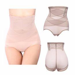 Wholesale High Waist Shaping Underwear - summer super thin women waist cinchers Women Slimming Seamless Body Shaping Pants Shapewear High Waist Underwear