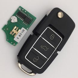 Wholesale Vw Golf Remote Key - Best price for KD900 remote key B series VW 3 button remote control black color 5pcs lot