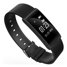Wholesale bit bracelet - Fitness Bracelet N108 Fit Bit Pedometer Fitness Tracker Smart Bracelet Heart Rate Monitor Bluetooth Fitness Watch Blood Pressure