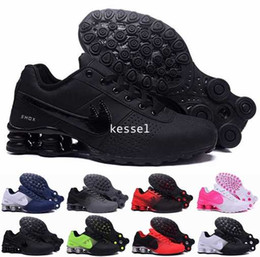 Wholesale Nz Running Shoes - 2017 New Shox Deliver NZ 809 Men Women Running Shoes Cheap Fashion Sneakers Shox Current High Quality White Blue Sport Shoes Size 36-46
