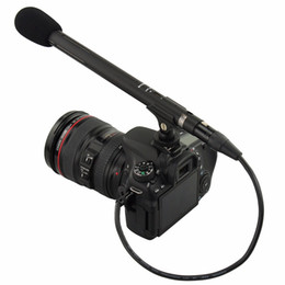 Wholesale Audio Video Pin - JJC Cable-XLR2MSM 1.4'(0.4m) Microphone Cable Adapter 3.5mm Mini Audio Input And 3-pin XLR Output Camera DSLR Camcorders Cable