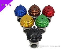 Wholesale Wastegate 44mm - 44mm tial Wastegate external turbo red blue black With Flange and HardwareTiAL MV-R Water Cooled Waste Gate stocked