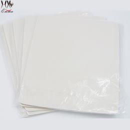 Wholesale Tattoo Sheets Free - Free shipping 10pcs 20 x 15cm Blank Tattoo Practice Skin Sheet for Needle Machine Supply Kit Plain