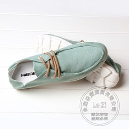 Wholesale Mens Plimsolls - Plain Plimsolls Solid Youth Low Top Soft Leather Mens Shoes Casual Breathable Slip On Shoes College Style Jean Canvas Shoes