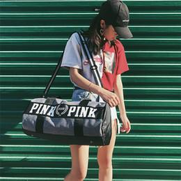 Wholesale Men Compression Stockings - Hot Canvas secret Storage Bag organizer Large Pink Men Women Travel Bag Waterproof Casual Beach Exercise Luggage Bags IB061