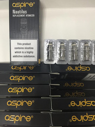 Wholesale Aspire Coils - 100% Original aspire BVC coil Bottom Vertical Coil work on nautilus mini and nautilus 2 tanks Huge vapor high quality TPD packing
