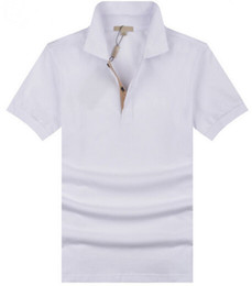 Canada Valeur Acheter Hommes Casual Polo T-shirt Brit Style Coton Tee Shirts Manches Courtes D'été Loisirs Sport Chemises Printemps Automne Marque Solid T Shirt Offre