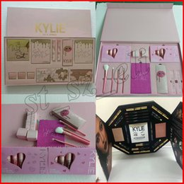 Wholesale Wholesale Halloween Makeup - kylie jenner I WANT IT ALL makeup set Take me on vacation Send me more nudes Ultia glow,The wet set and June bug Birthday Edition Collection
