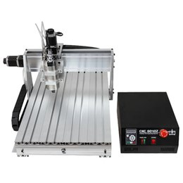 Wholesale Milling Spindles - CNC 6040 3-axis 1500W CNC Router Engraver With Double-Spindle For Wood Metal Aluminum CNC Cutting Milling Drilling Engraving Machine