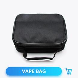 saco de vapor de dupla plataforma Desconto Bolso de Quartzo Banger E Cigarro Vapor Bolso Vape Bag Caso Double Deck Saco de Vapor para Mod Atomizador Do Tanque RTA RDA RDTA
