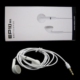 Wholesale Earphones Heavy Bass - Best quality Heavy bass Meizu EP10 in-ear Mini HD Earphone noise canceling earphone for MEIZU Note5 5S U10 3S U20 MX6 PRO6 A680Q