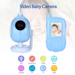 "Wholesale Sound Color Camera - Wholesale- Blueskysea A920 Video 2.4"" LCD 25F S Color Alarm Rechargeable Baby Monitor Camera Two Way Talk Audio Sounds Indicator"