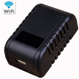 Wholesale Wifi Usb Security Camera - Wifi Spy Hidden Adapter Camera Motion Activated AC Power Adapter USB Wall Charger Night Vision Camera Nanny Cam Home Security Camera