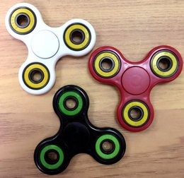 Wholesale Cheap Quality Toys - Cheap and high quality HandSpinner fingertips spiral fingers gyro Brass Ceramic ball steel bearings Acrylic Toys free for DHL