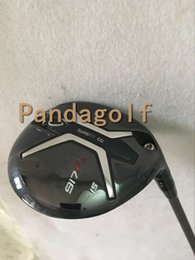 Wholesale Fairway Golf Heads - Golf Fairway Wood 917F2 Clubs #3#5 with graphite shaft golf clubs 917F Wood Set With Head Cover